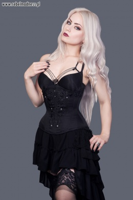 Gorset underbust black diamond