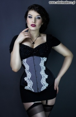 Gorset underbust longline immortal beauty